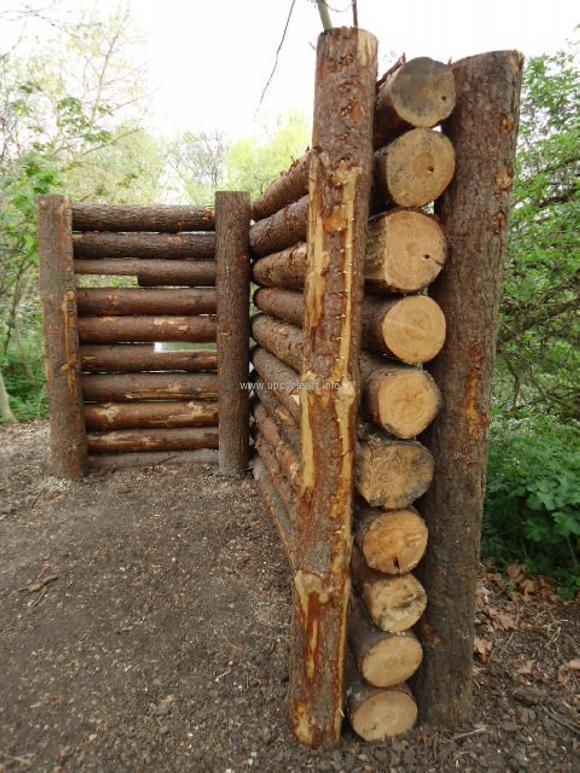 Fencing Cordwood fences