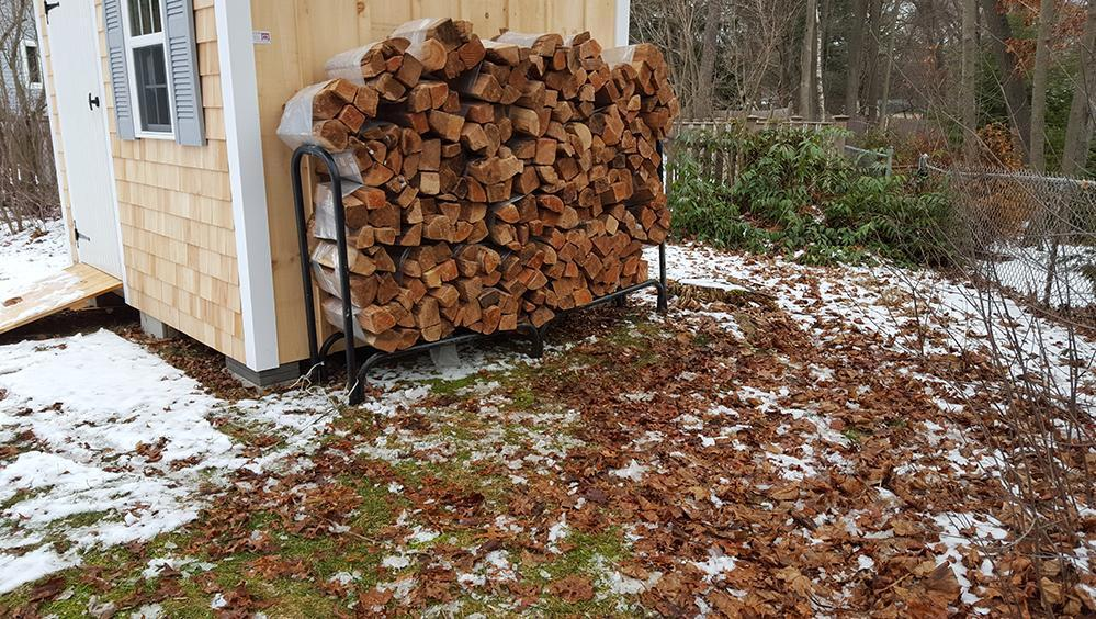 Face cord kiln dried firewood delivered stacked boston area
